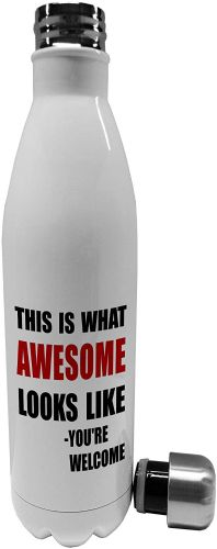 750ml This is What Awesome Looks Like - Stainless Steel Vacuum Insulated Water Bottle
